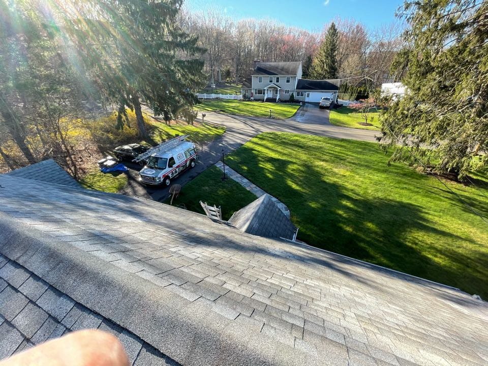 Orange, CT - Roof replacement in a couple weeks, we will be installing a Owens Corning total protection roof system.