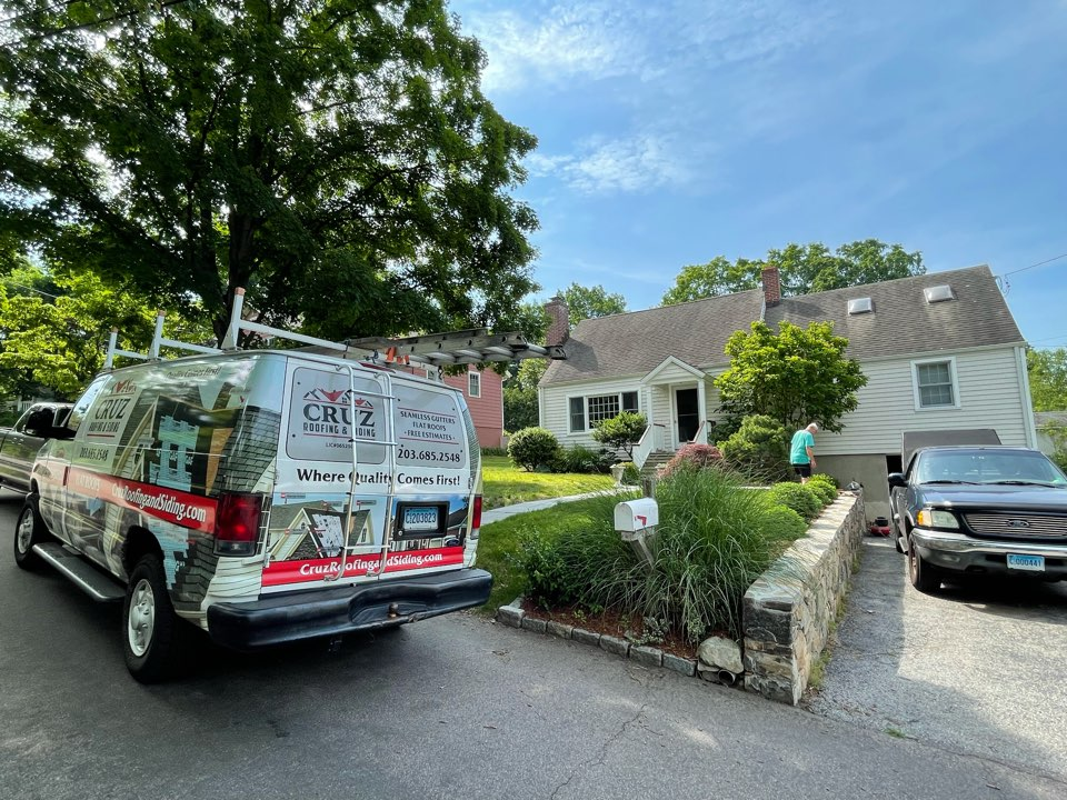 Fairfield, CT - Roof replacement                                          Client asked us for our best 30 year shingle. As roofing experts We will be installing a Owens Corning total roof protection system.