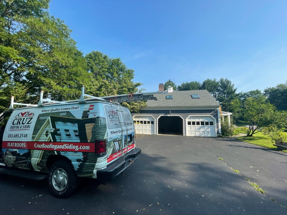 Fairfield, CT - Roof replacement, new GAF Timberline roof system in color slate. Our roofing company will be installing next month.