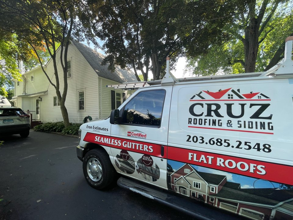 Fairfield, CT - Roof replacement will start next week, new Owens Corning roof system. in onyx black.