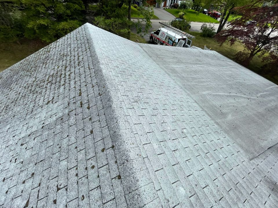 Fairfield, CT - Roof replacement in Fairfield Connecticut, client will get a new Owens corning total roof protection in color state gray.