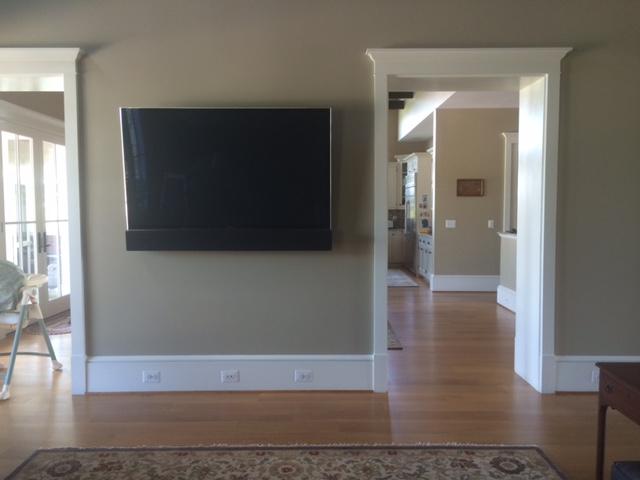 Hume, VA - Custom Matched LCR Array & Smart TV.