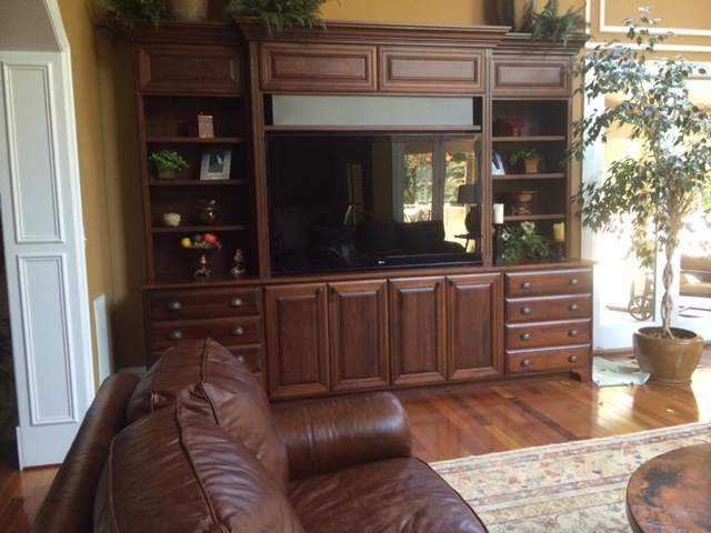 Clifton, VA - Timeless custom entertainment system
