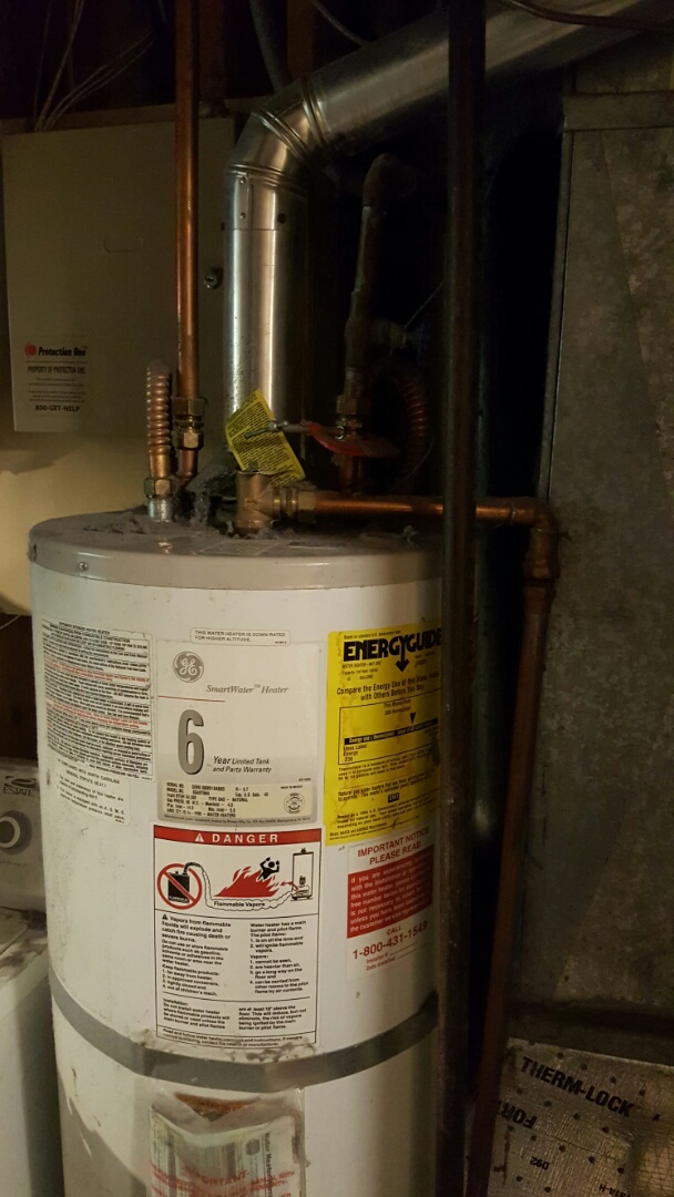 West Valley City, UT - Replacing 40 gal water heater special size in West Valley city