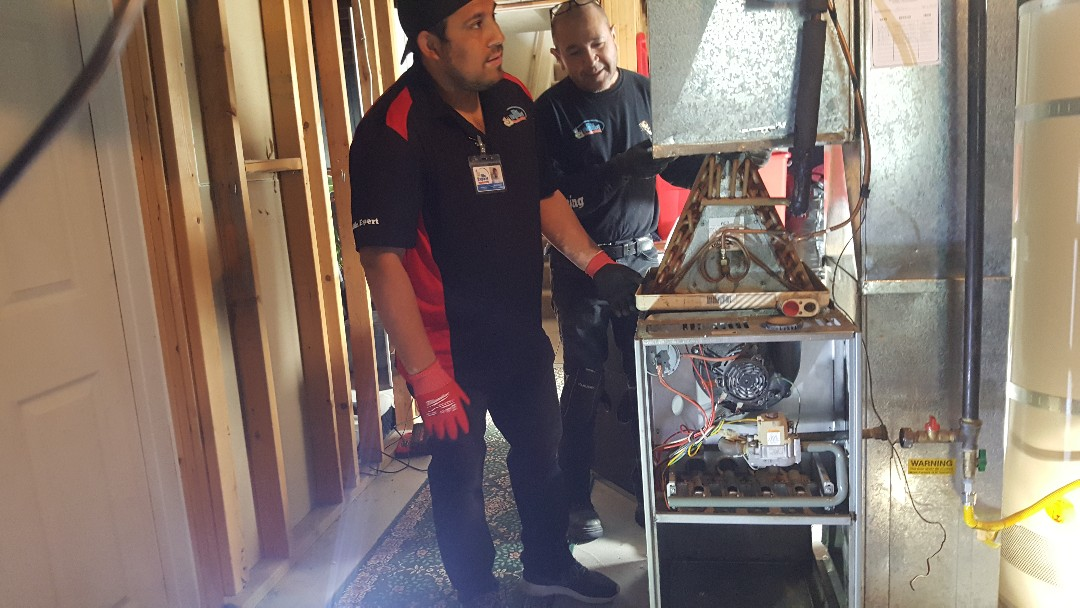 Replacing an air residencial air conditioner system in Kearns Salt Lake City