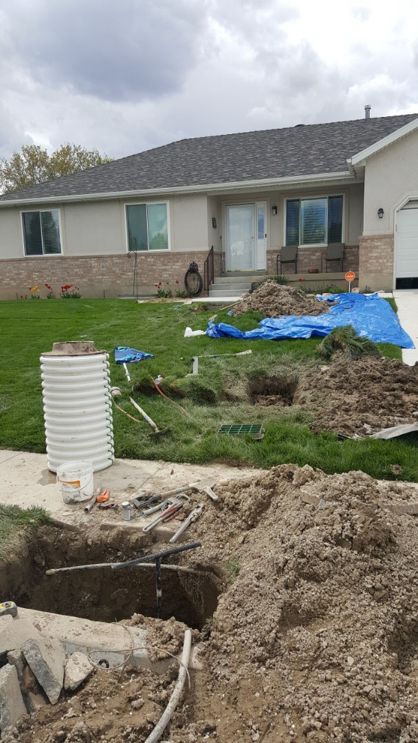 Riverton, UT - Doing a trenchless main water line replacement in riverton