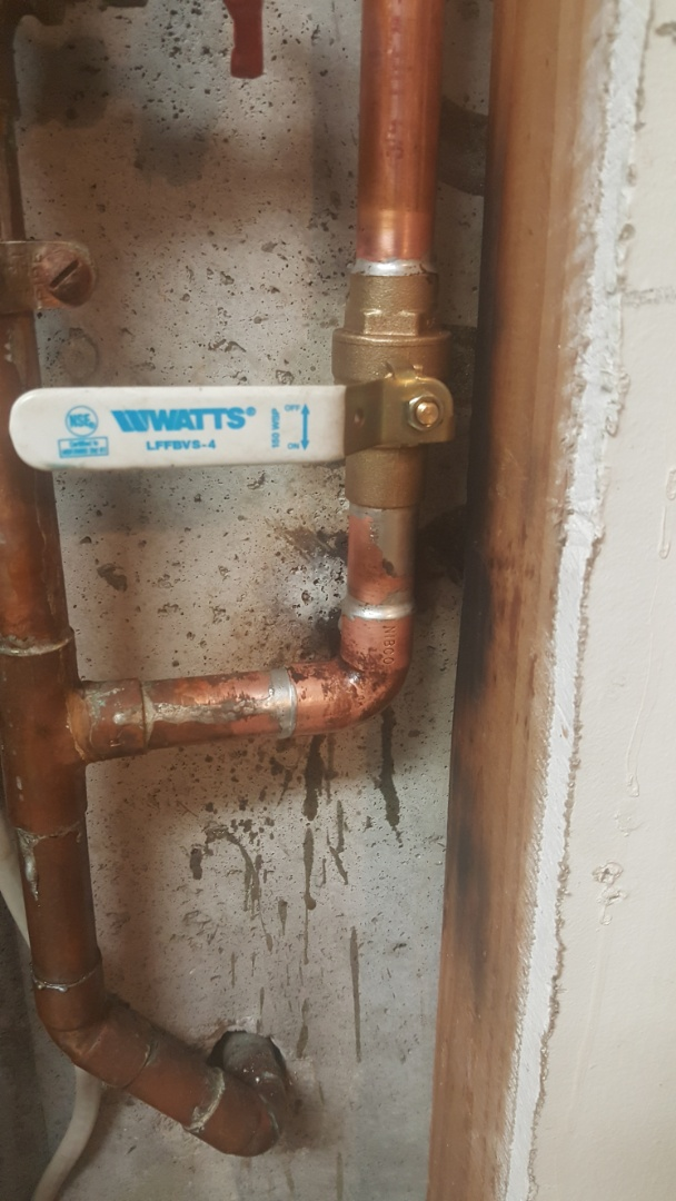 West Jordan, UT - Replacing a sprinkler system shut off valve in basement around  west jordan area