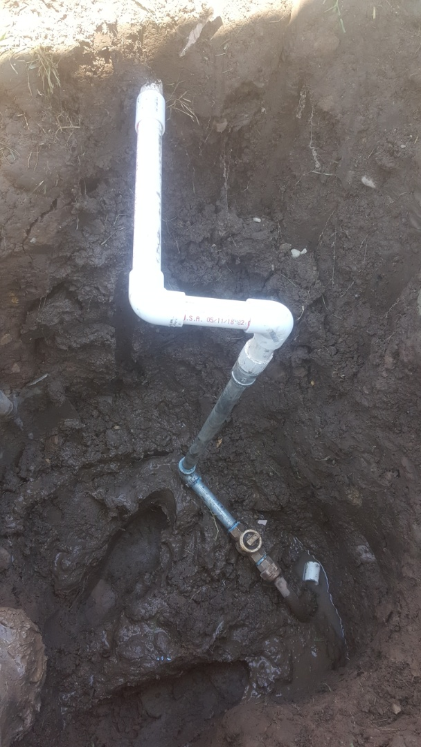 Millcreek, UT - Replacing  stop and waste valve  for sprinkler system.  Milckeek