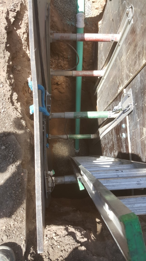 Salt Lake City, UT - Doing a new sewer line.  Salt lake city