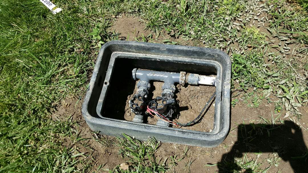 Salt Lake City, UT - Replacing sprinkler manifold in Murray