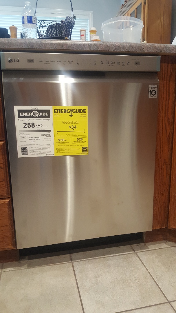 Replace dish washer in Draper