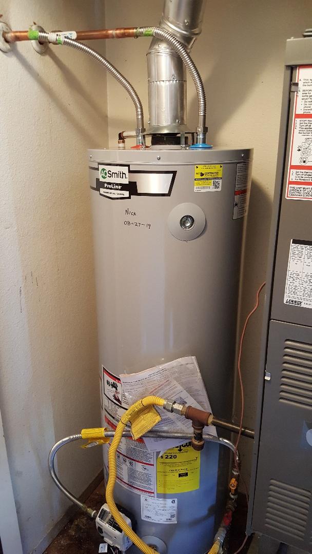 Replacing water heater in West Jordan