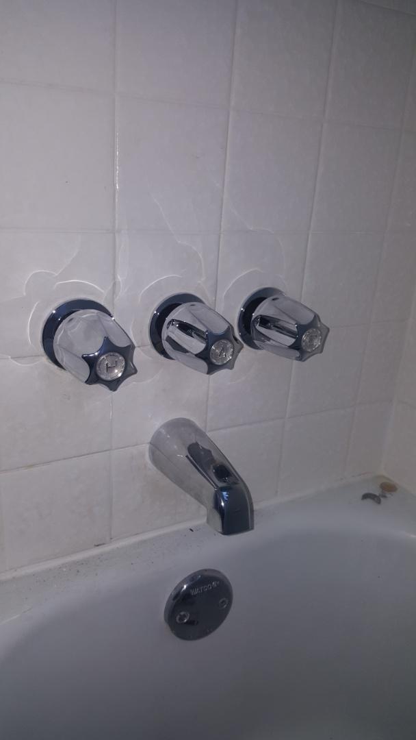 Sandy, UT - Replacing 3 handle shower valve.  Sandy