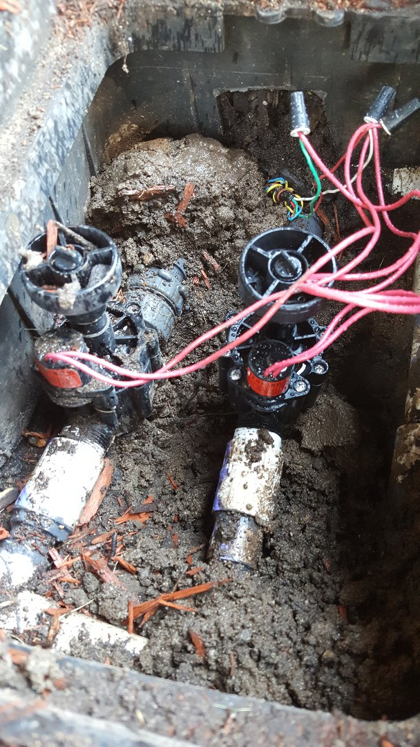 Murray, UT - Replacing sprinkler valve in Murray