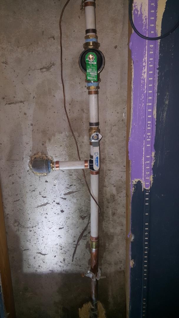 Replacing pressure regulator valve. Kearns