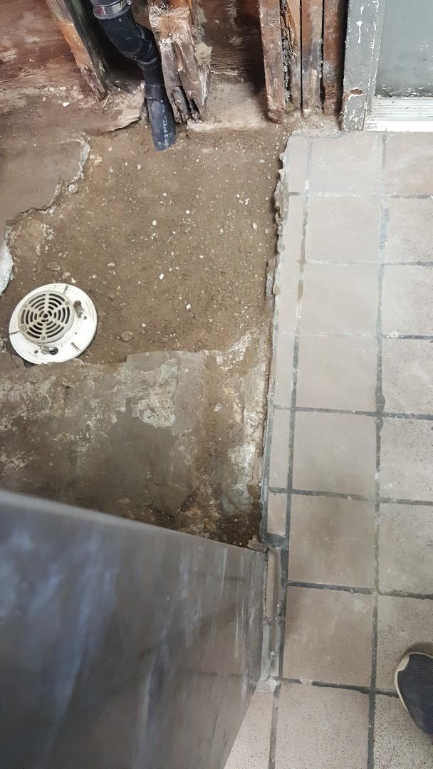 Floor drain in commercial buildings in Murray
