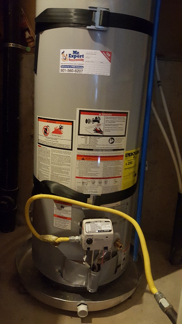 West Valley City, UT - New water heater installation in West Valley City, Utah