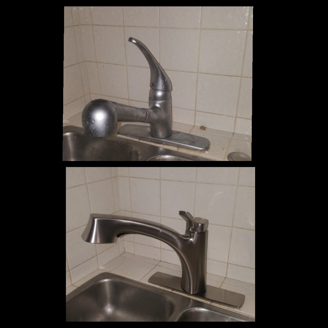 Salt Lake City, UT - Replacing kitchen faucet.  Salt lake city