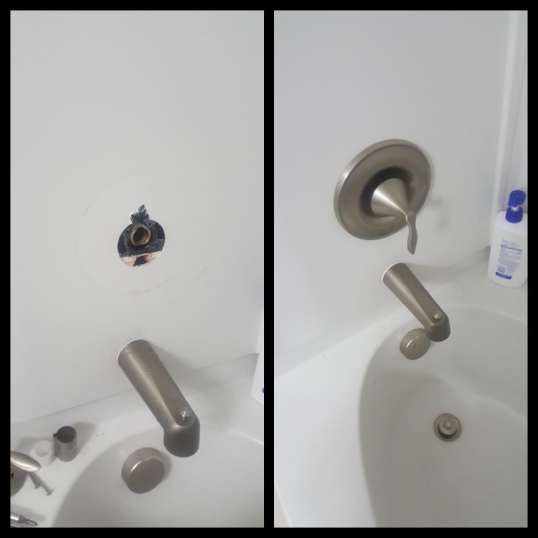 South Jordan, UT - Doing repairs for shower valve. Daybreak