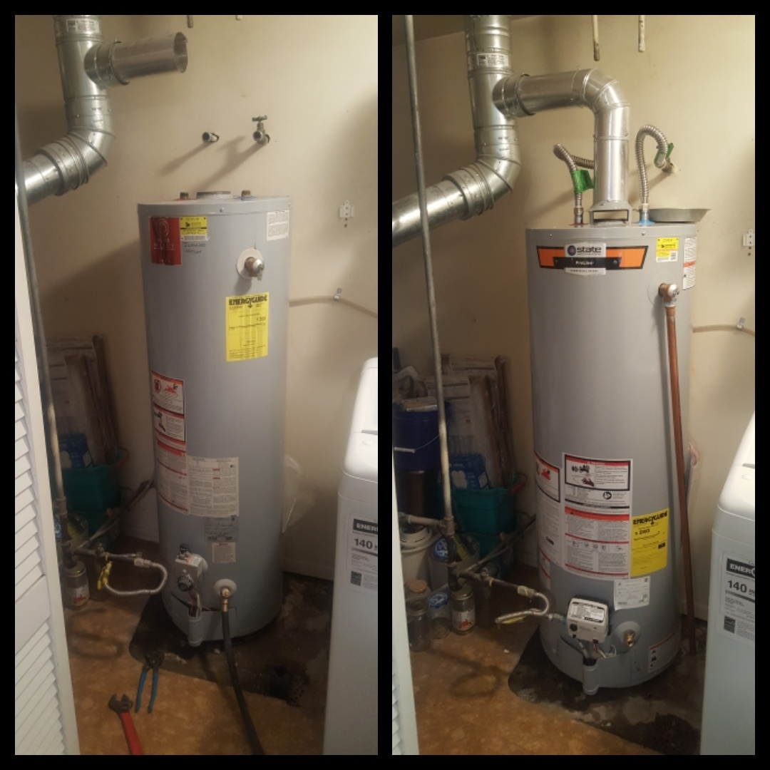 Murray, UT - Replacing residential water heater.  Murray
