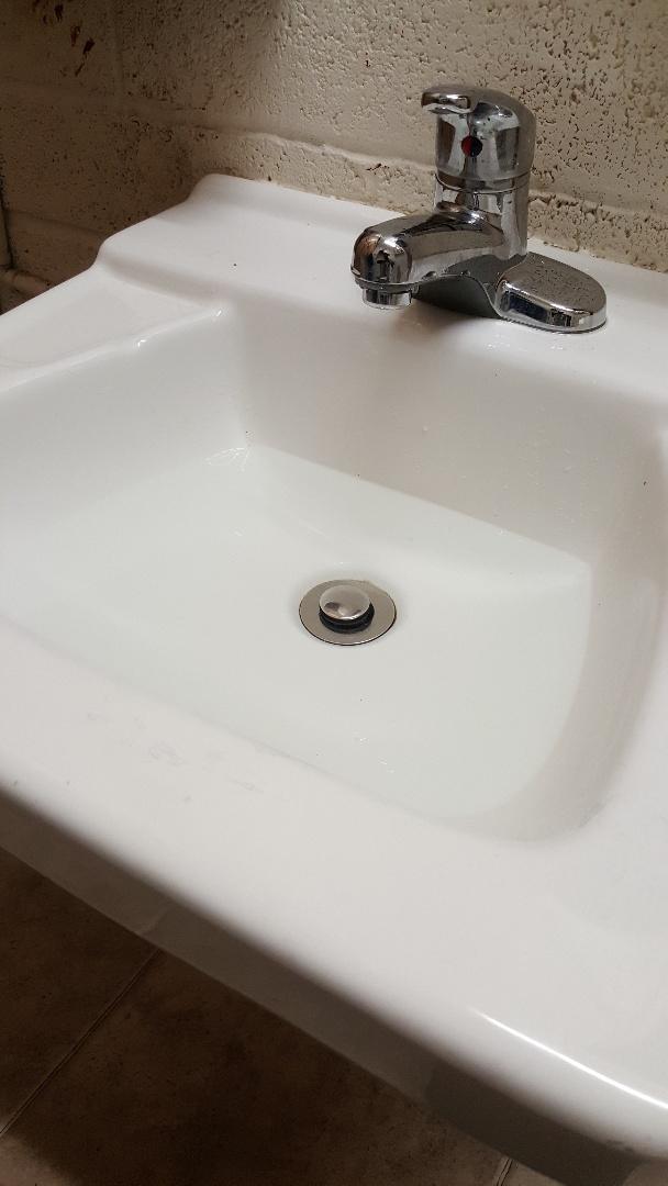 Clogged sink drain in salt lake city