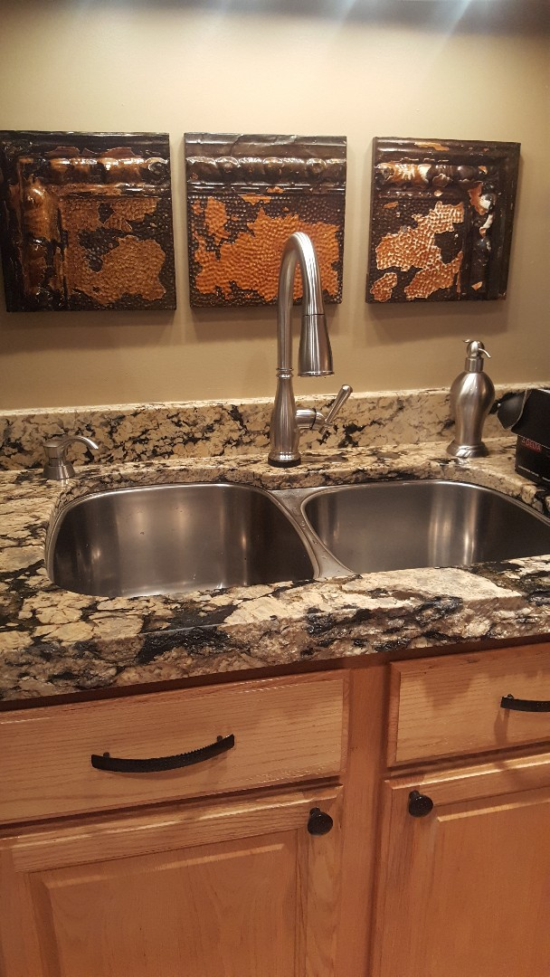 Cottonwood Heights, UT - New kitchen faucet in Cottonwood Heights.
