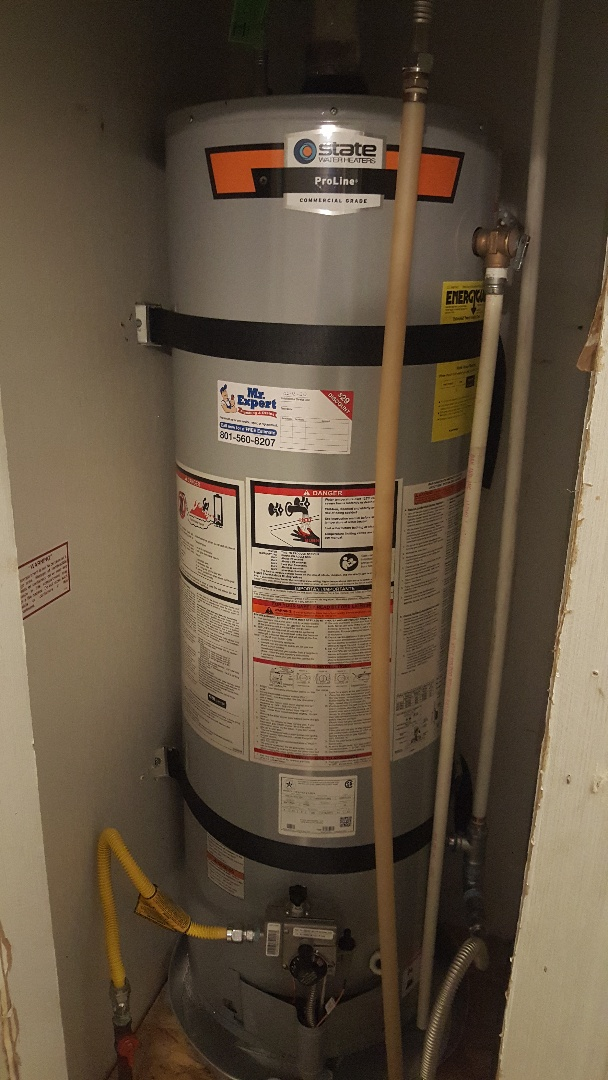 New mobil home water heater installation in West Jordan