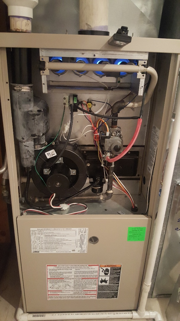 Cottonwood Heights, UT - Diagnose and repair a Lenox furnace in Cottonwood Hights.