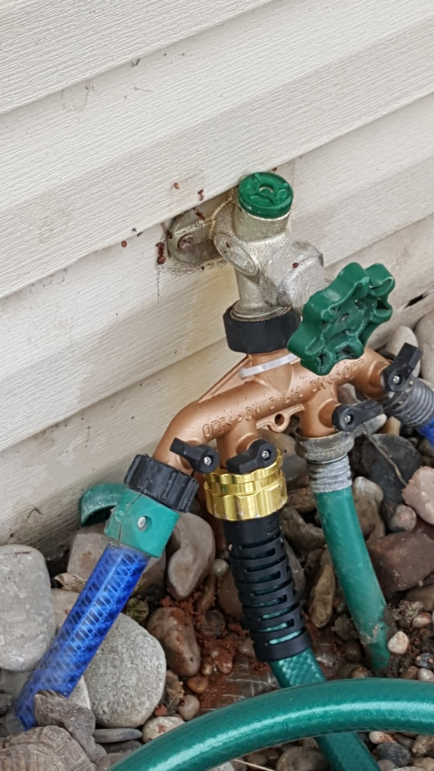 Salt Lake City, UT - Leaking garden faucet in salt lake city