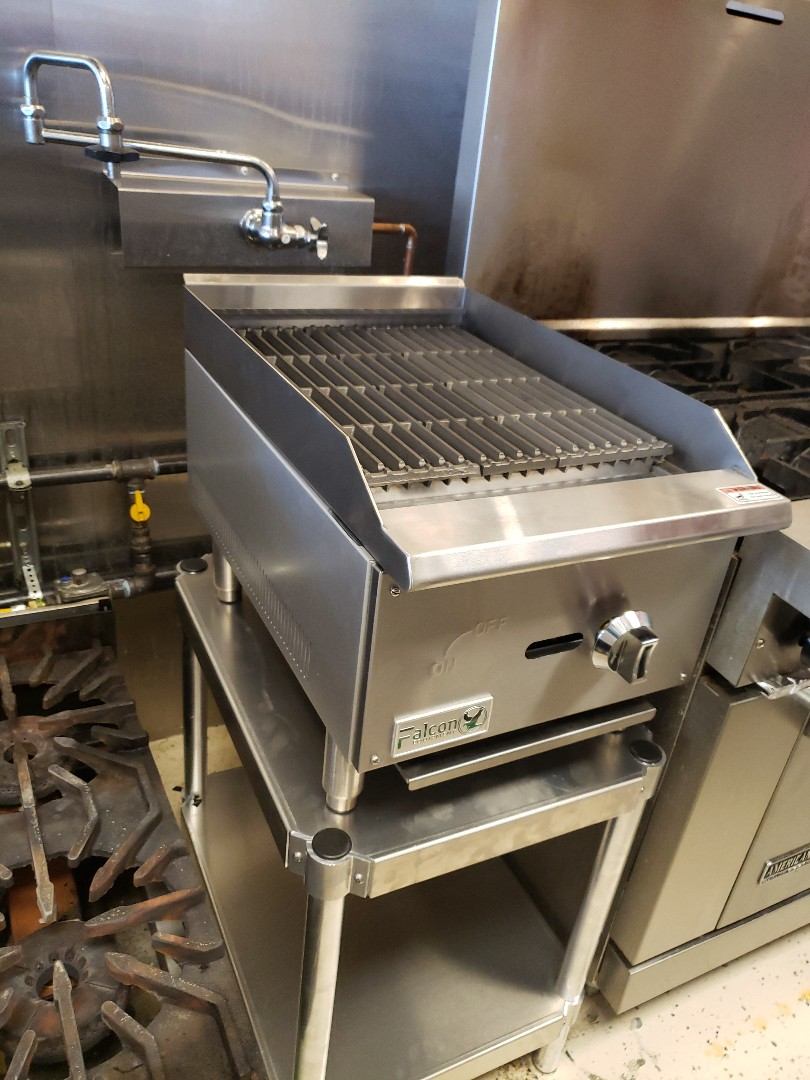 Install new commercial type stove in resturant in West Jordan.