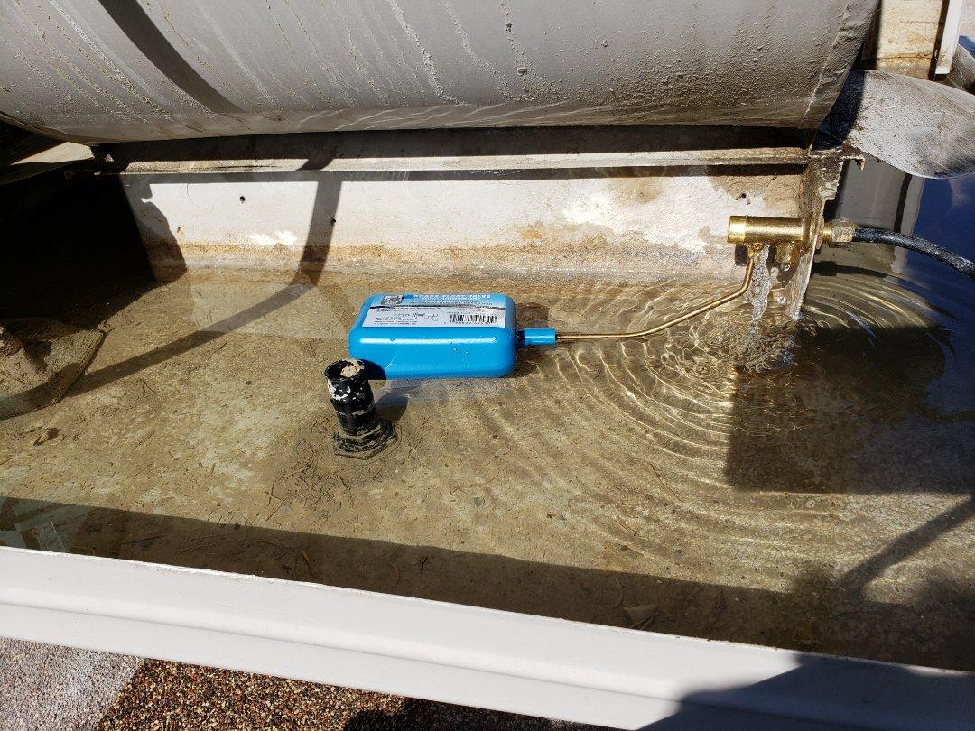 Salt Lake City, UT - Replacing float for swamp cooler. Salt Lake city