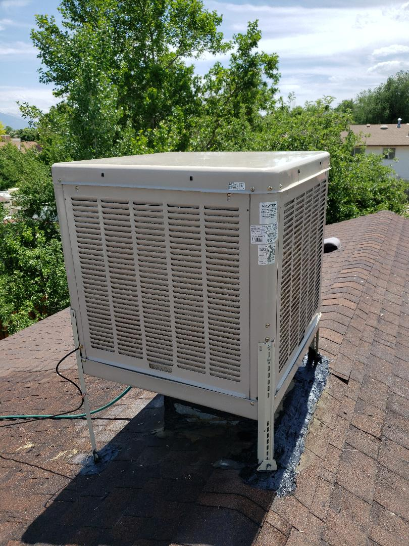 Swamp cooler replacement in Kearns Utah