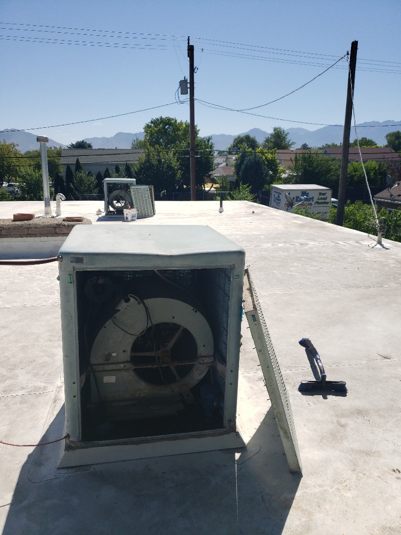 Servicing swamp coolers in Salt Lake Area.