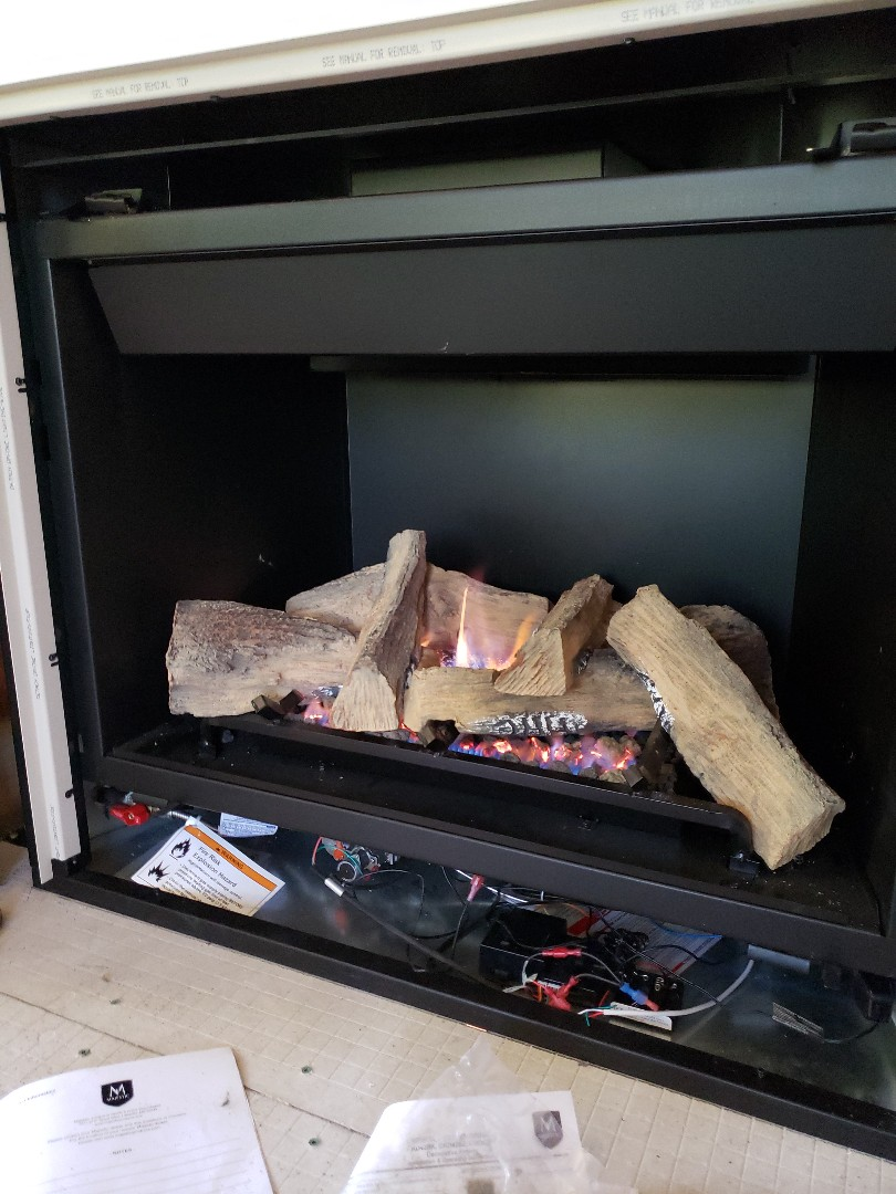 West Valley City, UT - Installing fireplaces in immigration canyon, Utah.