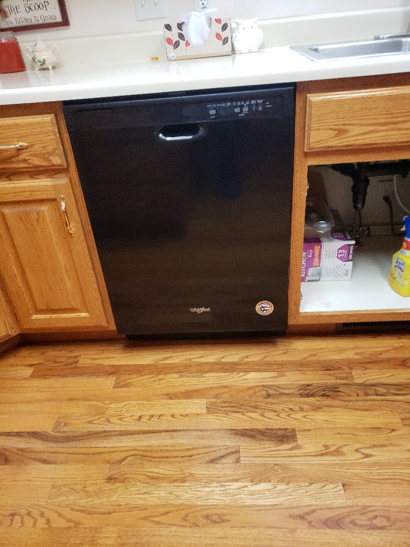 Riverton, UT - Replacing a dishwasher in Sandy Utah