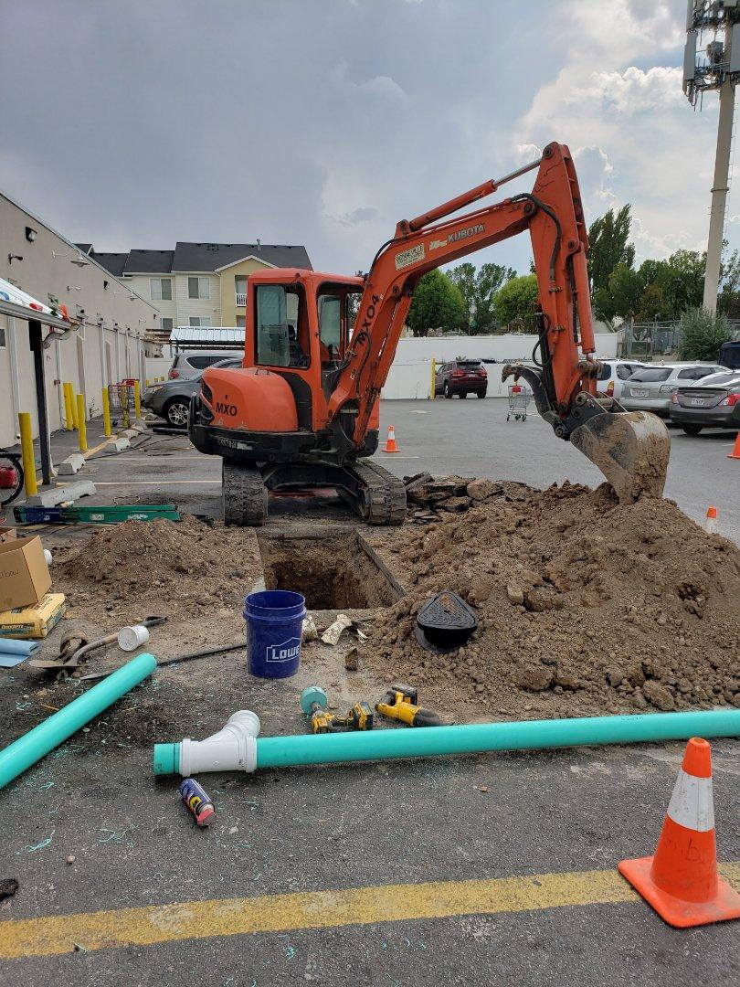 Magna, UT - Main sewer line repair. Magna