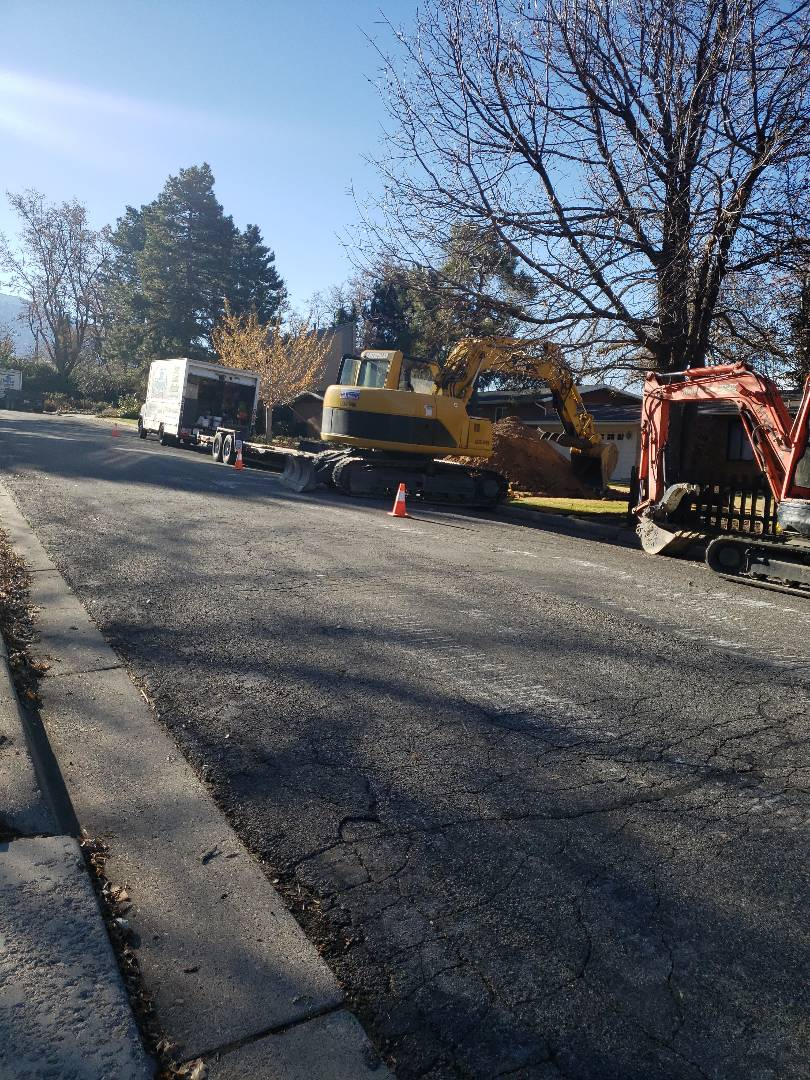 Holladay, UT - Sewer liner installation a a seeer line repair on Holladay Utah.