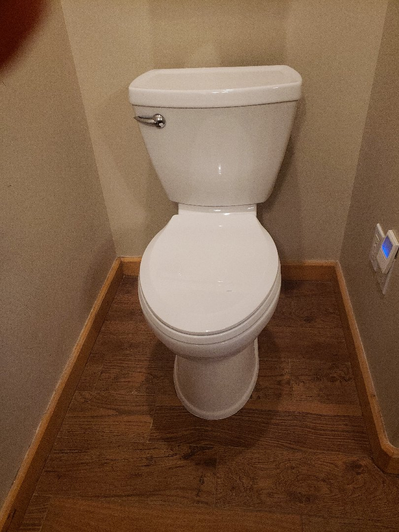 South Jordan, UT - Replacing an old toilet in South Jordan area.