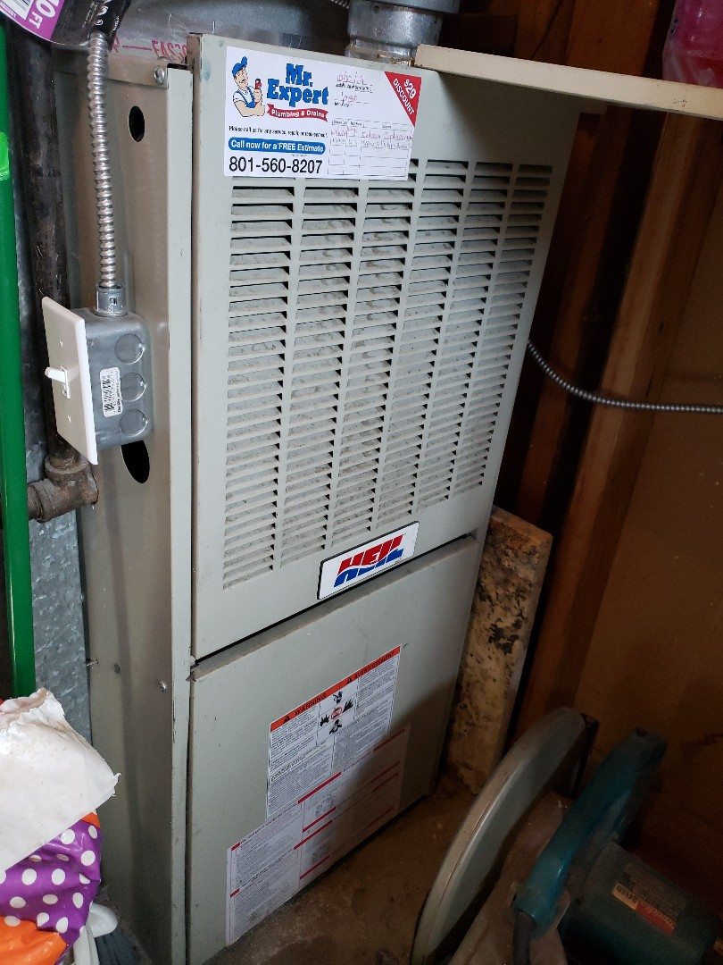 Furnace repair in West Valley City.