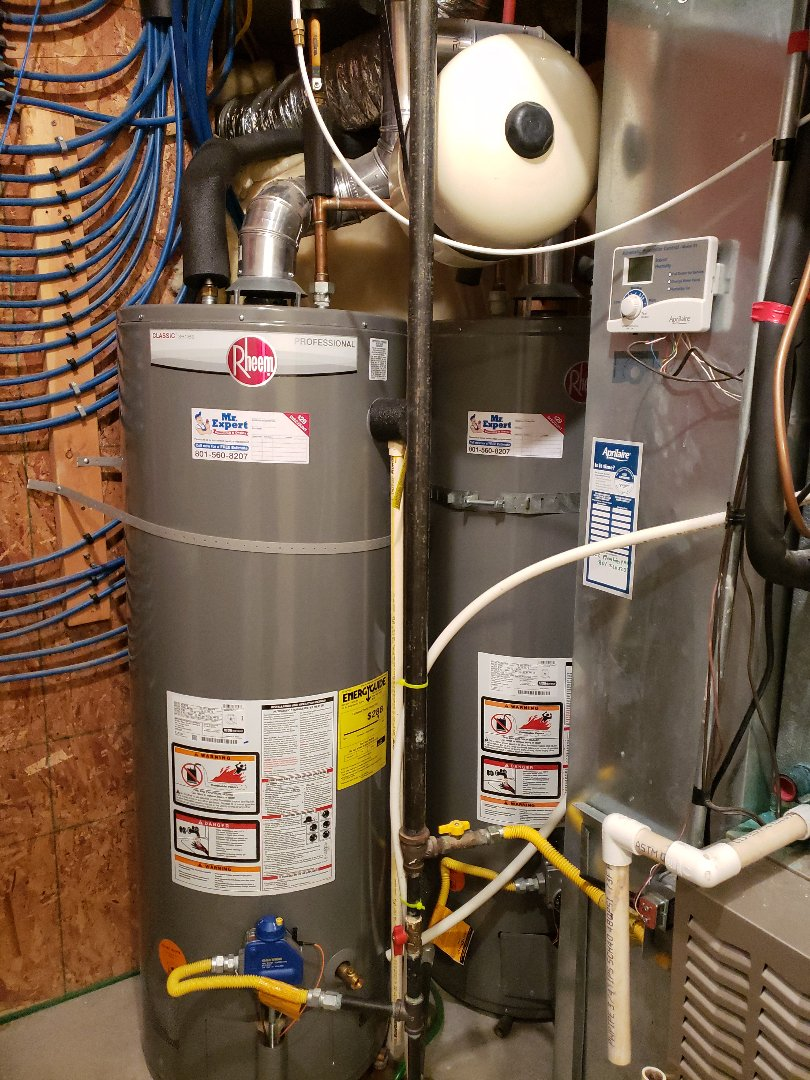 Water heater repair, replace the thermocouple, replace an expansion tank in South Jordan