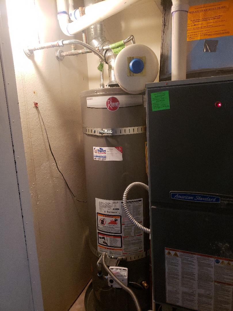 West Jordan, UT - Replacing a water heater in West Jordan.