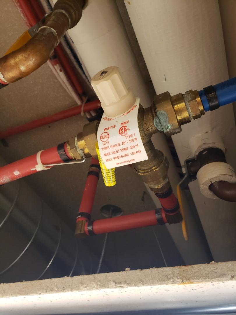 Cottonwood Heights, UT - Replacing mixing valves. Cottonwood heights