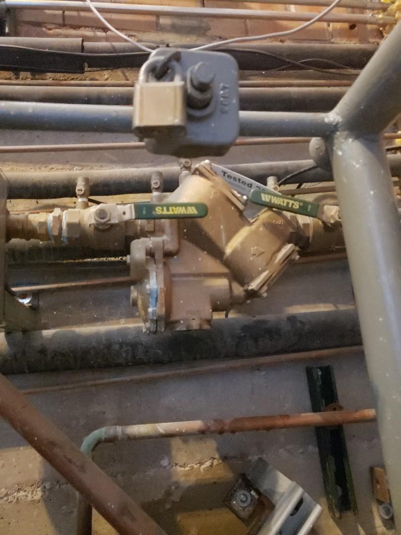 Salt Lake City, UT - Rebuild backflow preventer an irrigation system in Alt Lake City Area.