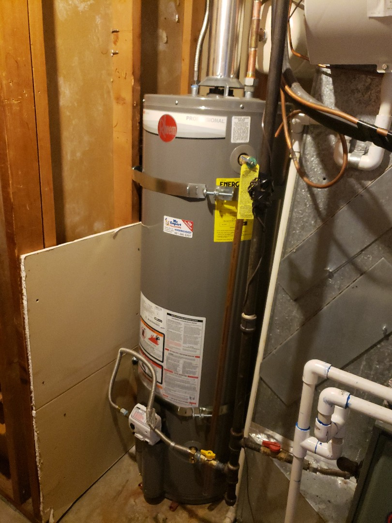 Salt Lake City, UT - Replace a gas water heater in West Valley City, Utah.