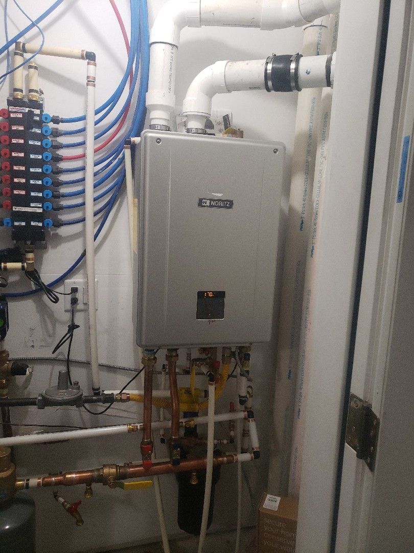 Salt Lake City, UT - New boiler combinations system for domestic and heating system.