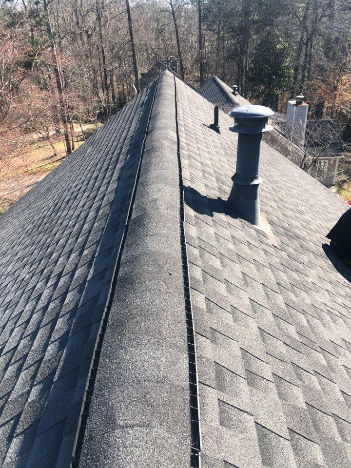 Marietta, GA - Helping this homeowner with some roofing repairs today in Marietta GA!