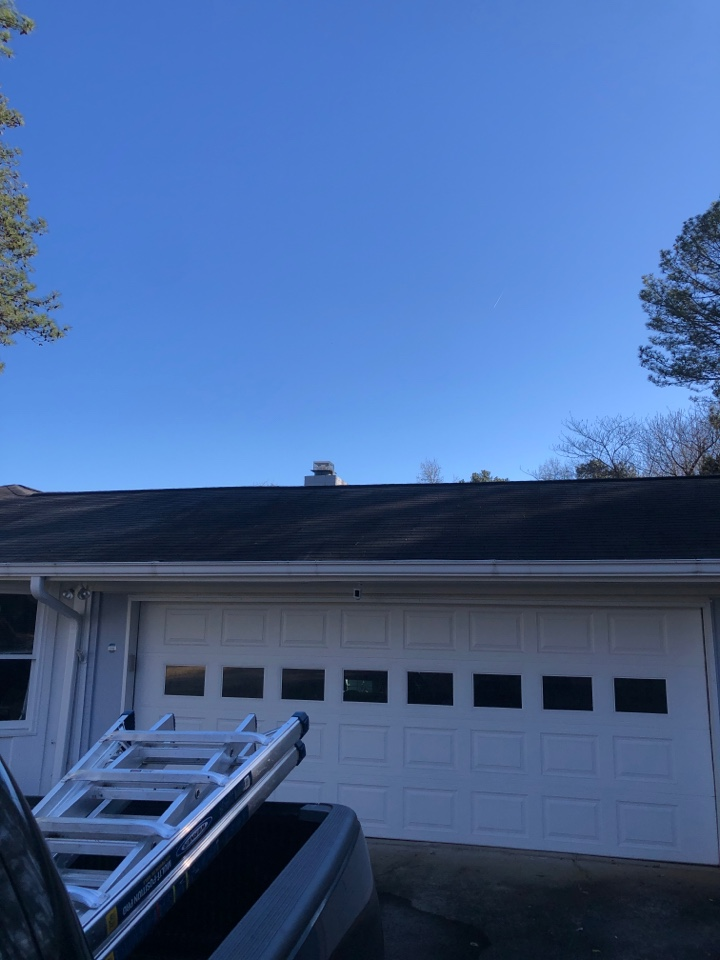 Marietta, GA - Just helped this homeowner out with a free roof inspection in Marietta GA!