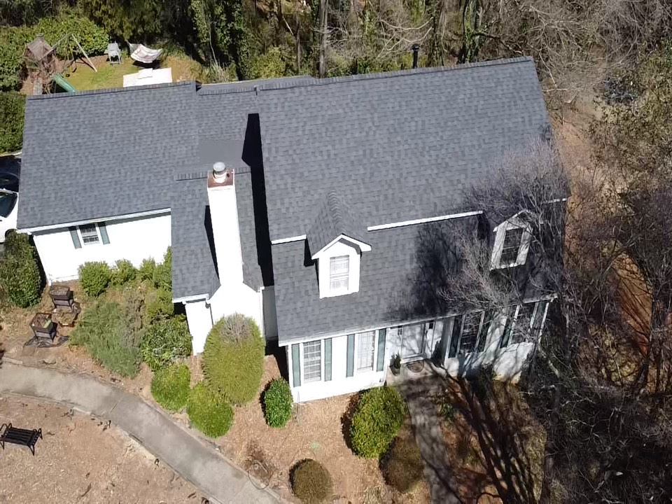 Marietta, GA - StormROOF Systems was able to save this homeowner thousands by working directly with their insurance to warrant a full roof replacement due to weather related damage.