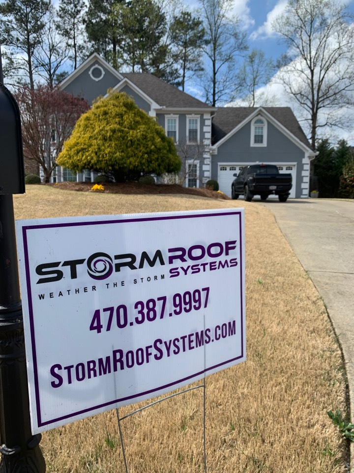 Marietta, GA - Helping this homeowner get full coverage from Allstate after a hailstorm last year after being previously denied. Don't wait, call us today!
