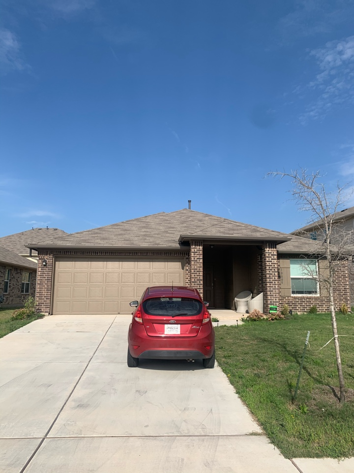 Austin, TX - Just wrapped up another free roof inspection in Austin! Happy to report there was no damage to her roof.